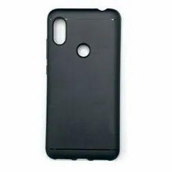 Black Plastic Plain Mobile Back Cover