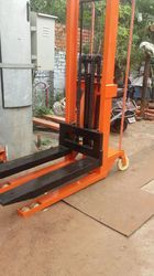 Manual Hook Hydraulic Stacker