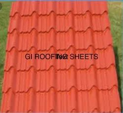 Gi Roofing Tile Profile