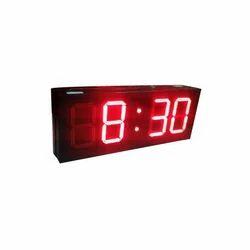 B.B.S. Devices LED Clocks, Size/Dimension: 12 (w) X 6 (h)
