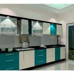 Modern Wooden Modular Kitchen
