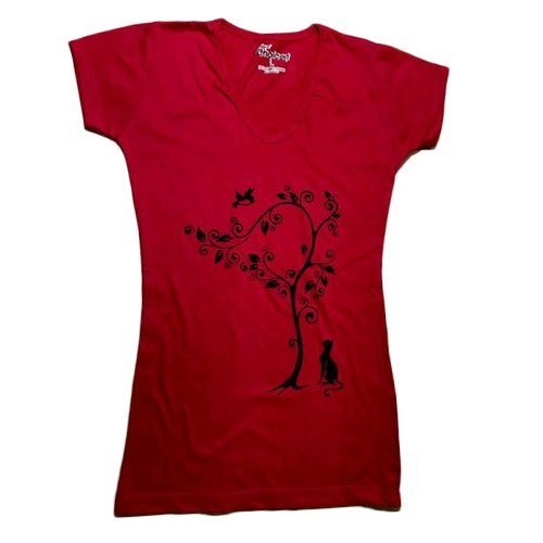 Cotton Ladies Half Sleeves T Shirt, Size: S