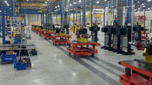 HV Engineering Tow Line Floor Conveyor Systems, Rs 700000 /unit HV ...