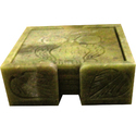 Soapstone Tea Coaster Set