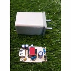 Bright 2.4 Amp White Mobile Charger