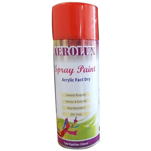 400 Ml Aerolux Red Spray Paint