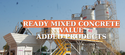 Ready Mixed Concrete Value