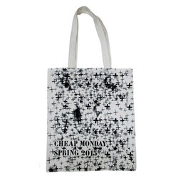 COTTON PRINTED SHOPPING TOTE BAGS