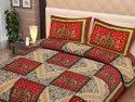 Rajasthani Rajwada Bedsheet for Double Bed