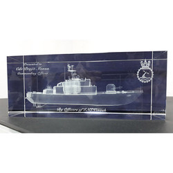 3D Engraved Mementos for Navy