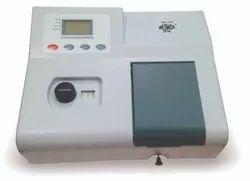 SINGAL BEAM MICROPROCESSOR UV-VIS SPECTROPHOTOMETER