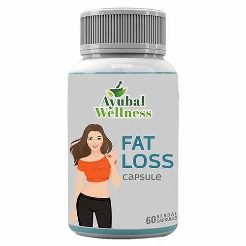 Ayubal Wellness Fat Loss Capsule, Packaging Type: Plastic Container, 60 Capsules