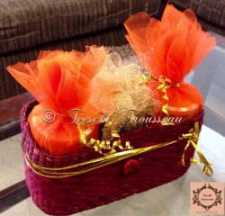 Red Wedding Trousseau Packing