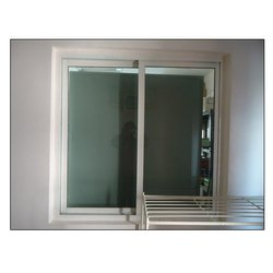 2 Track White Aluminium Sliding Window