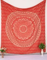 Red Ombre Wall Tapestry