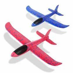 Foam Aeroplane Toy, Loose, 3-7 Year