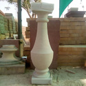 White Stone Balusters