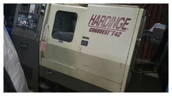 USED & OLD MACHINE - HARDENING CONQUEST T42 CNC TURNING MACHINE ON THE WAY