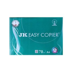 White JK Easy A4 Paper, Packaging Size: 500 Sheets per pack, Packaging Type: Box