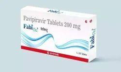 Fabiflu Favipiravir 200 Mg Tablets, Prescription, Treatment: Covid19 Mild