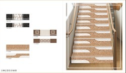 3.25 Feet Step Riser & Wood Look Tile