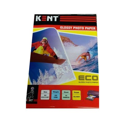 Kent Glossy Photo Paper, Size: A4, 100 Piece