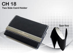 CH-18 Two Side Card Holder