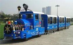 Trackless Park Train