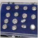 CVD Diamond 4.30mm to 4.50mm GHI VVS VS Round Brilliant Cut Lab Grown HPHT