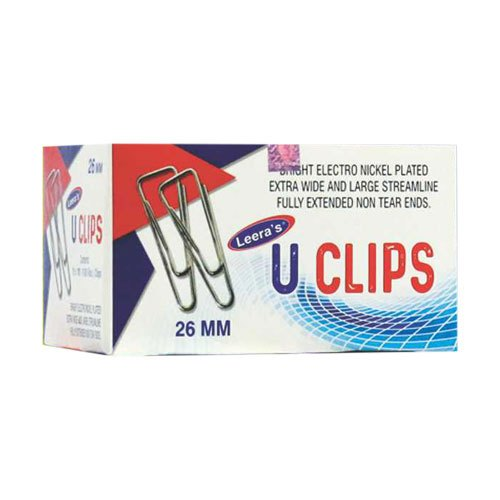 Leera' s Paper Clips, Packaging Size: 35mm