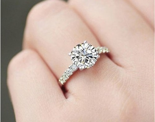 Gemone Diamonds Anniversary And Engagement 1 Carat Diamond Ring Size 6 9