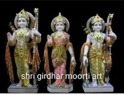 Artistic Marble Ram Darbar Statue
