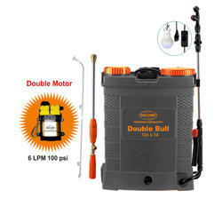 Battery Sprayers- Double Bull