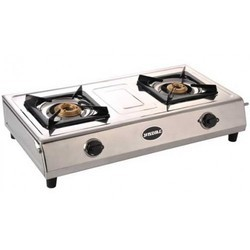 Steel Not Automatic Two Burner Lp Gas Stoves, For Kitchen