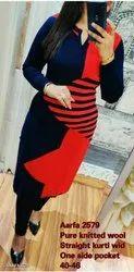 Casual Wear Regular Aarfa Designer Kurti