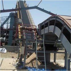 Flexible Slat Chain Conveyor, Width: 200 to 2000 mm