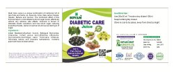 Diabetic Care Juice