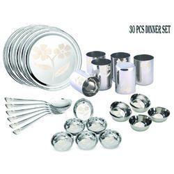 Deluxe Steel Dinnerware