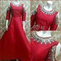 Designer Silk Gowns Pc-03