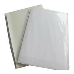 White Paper Plain Sticker Sheet, Packaging Type: Packet, Size: 20*30 Inch
