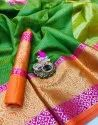 Pure Silk Kota Saree with Blouse