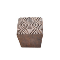 Square Shaped Designer Wooden Henna Printing