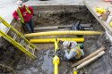 Commercial Gas Pipeline Under Ground Project