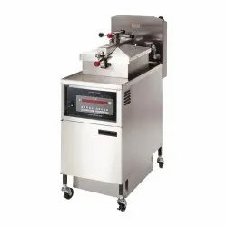Electric Pressure Fryer With Oil Filter