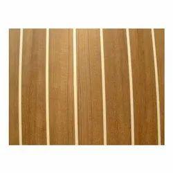 Brown Teak Veneer Plywood, for Furniture, Size: 8' x 4'