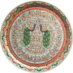 Marble Plate, 12 Inch