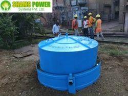 6 CMD Biogas Plant for 20 Kg Food Waste
