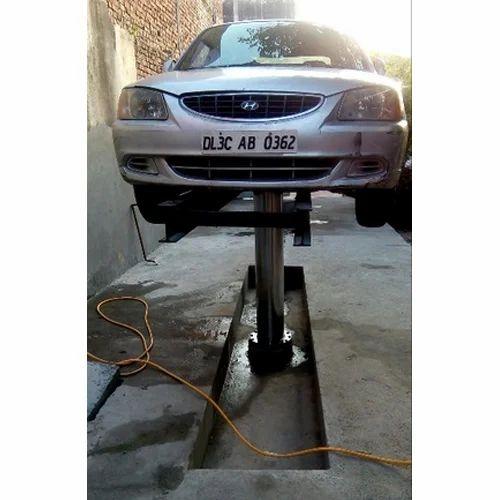 25 Kg Commercial Washing Machine At Rs 150000 Piece: Amfos Car Hydraulic Washing Lift