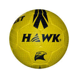 Rubberized Hawk Street Yellow Soccer Ball