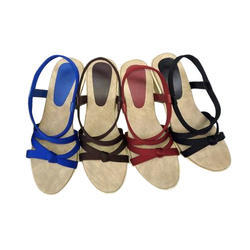 Women Party Wear Ladies Designer Sandal, Size: 7/12